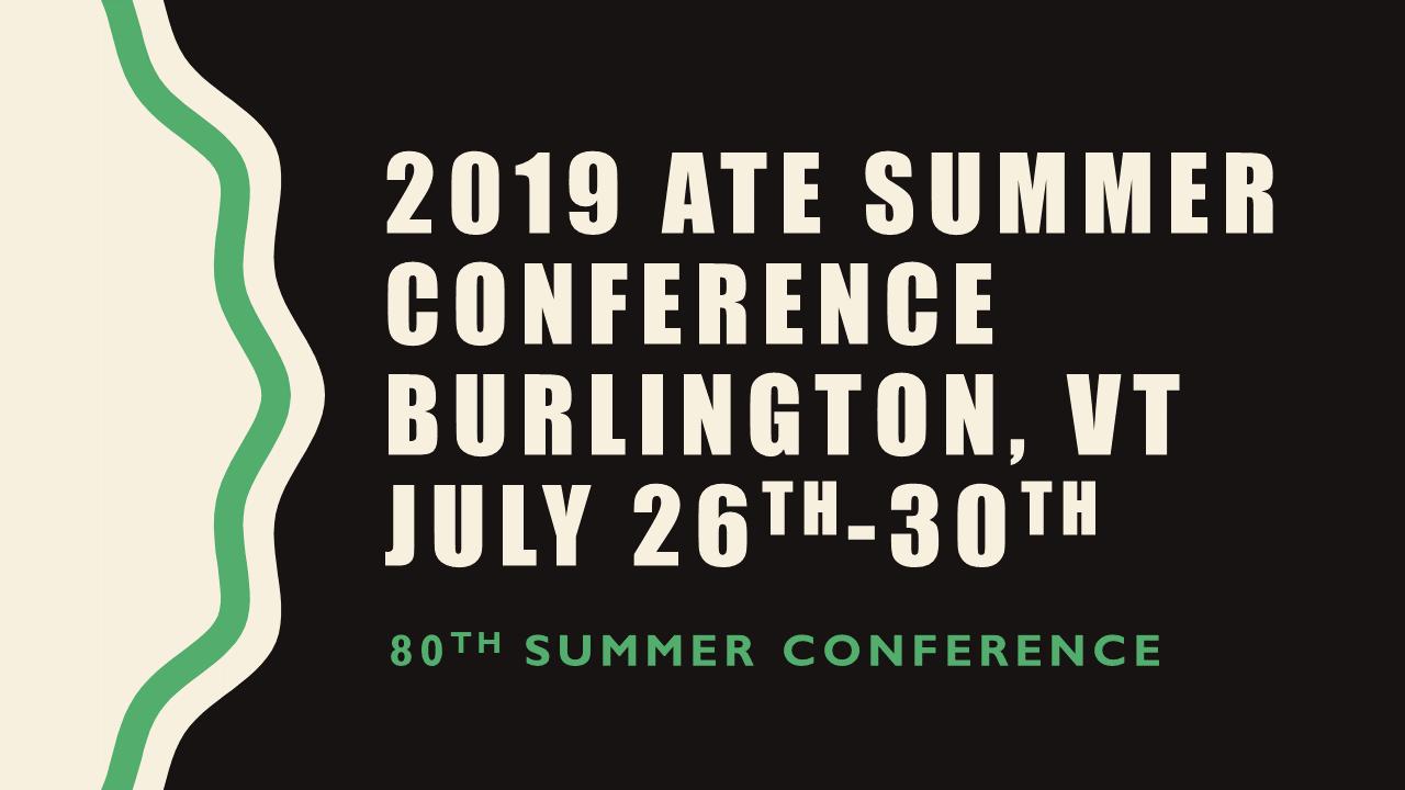 Association of Teacher Educators - Summer 2019 ppt