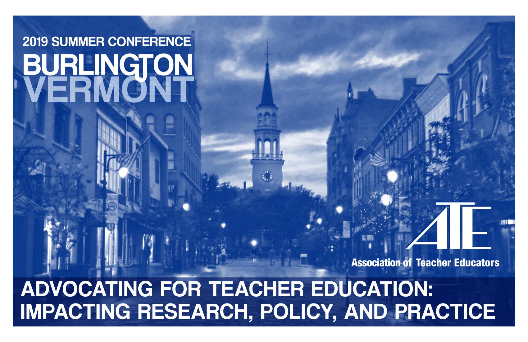 Association of Teacher Educators - Exhibit at ATE's Annual Meeting